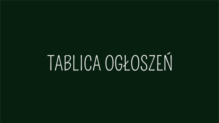 """Wirtualna tablica ogłoszeń """"Rymanowskie Wiatraki 2019"""""""